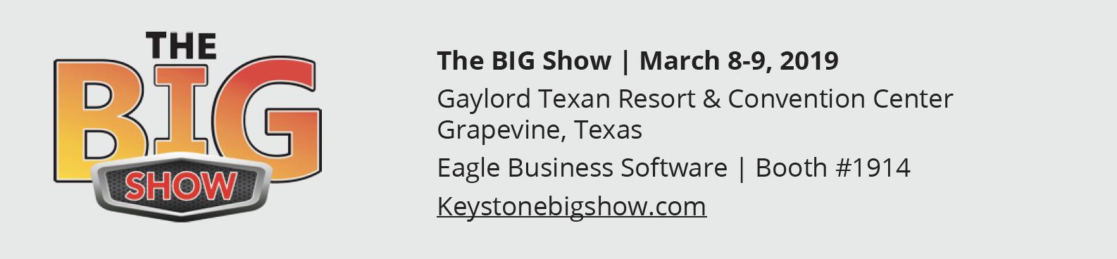 Keystone BIG Show 2019 Details