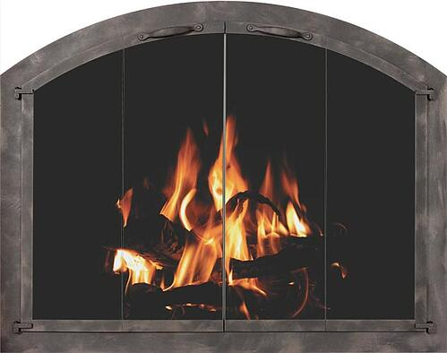 fire place metal frame