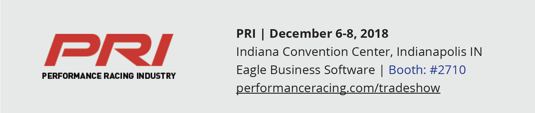 PRI Show 2018
