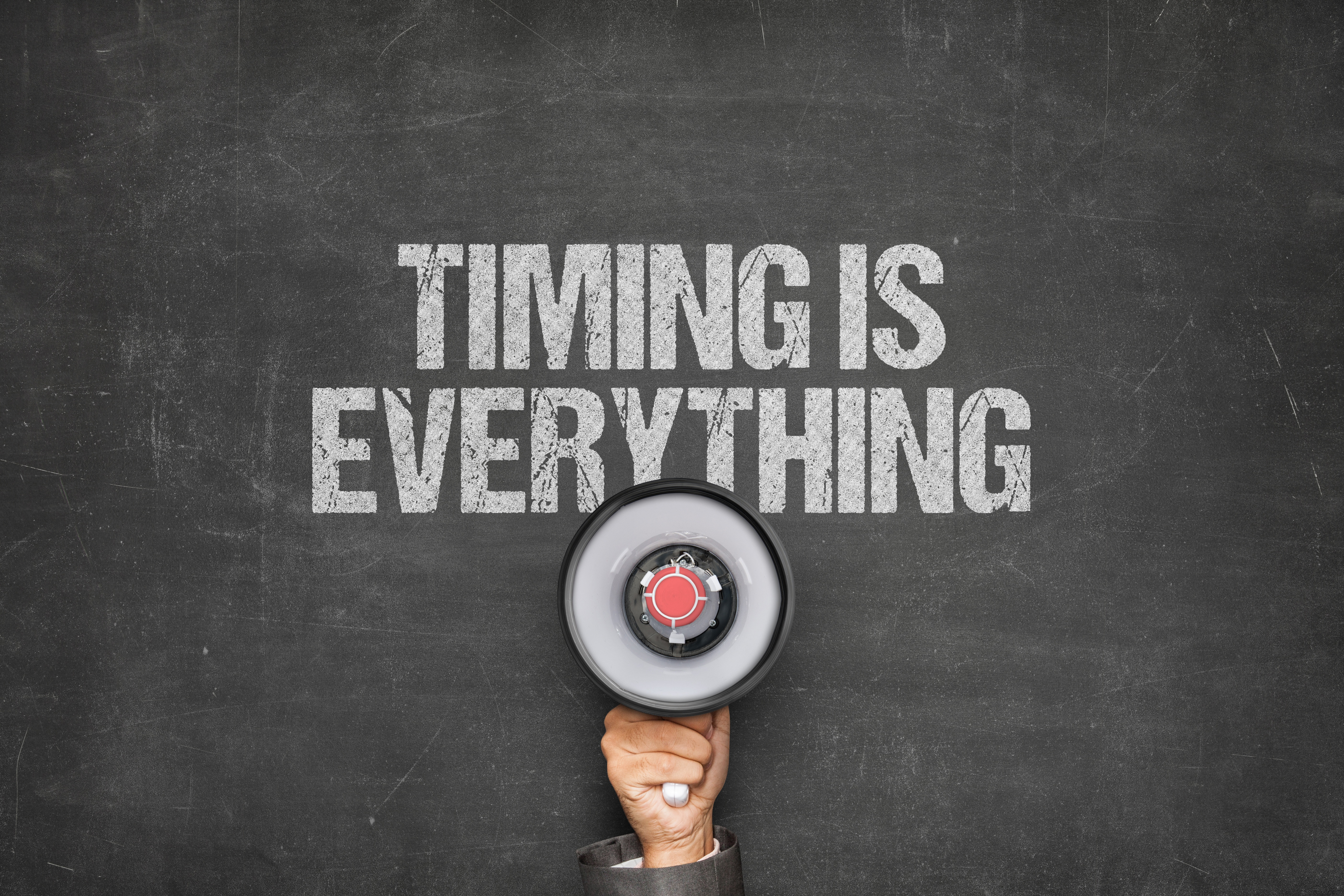Timing is Everything AdobeStock_162502438